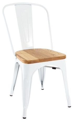 replica tolix chair timber seat commercial furniture